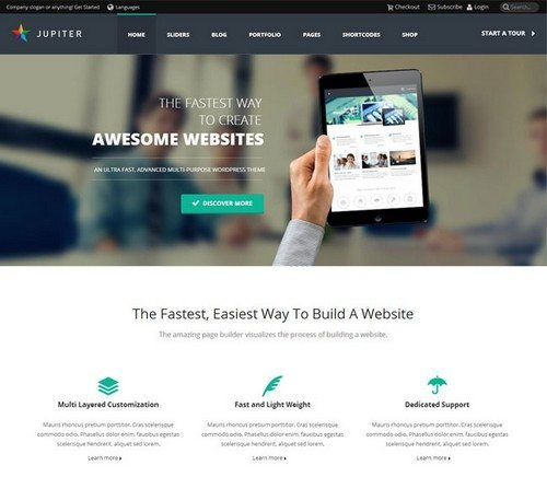 Jupiter-Responsive-Corporate-Theme