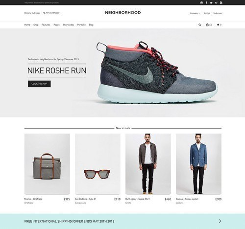 Neighborhood-Responsive-Shop-Theme