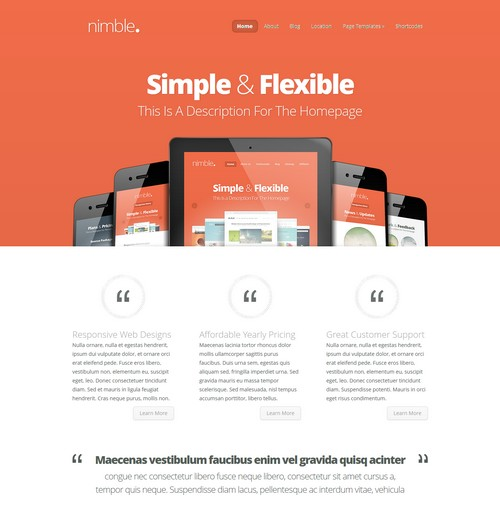 Nimble-WordPress-Theme