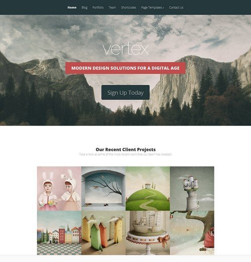Vertex-WordPress-Theme