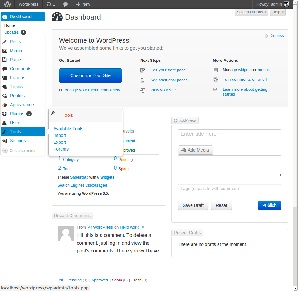 bootstrap-admin