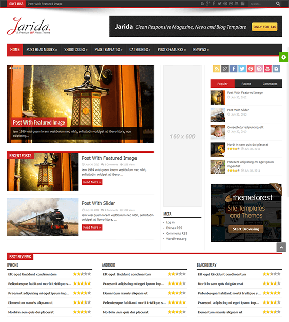 jarida-plantillas-wordpress-responsive