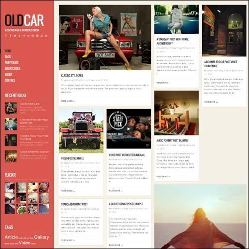 oldcar-responsive-blogportafolio-wordpress-plantilla