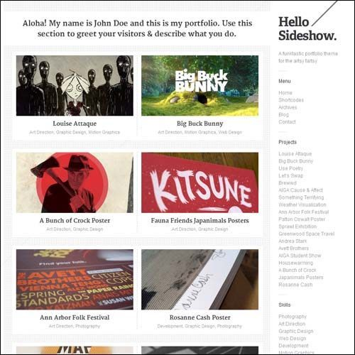 sideshow-plantilla-wordpress-funktastic-portfolio