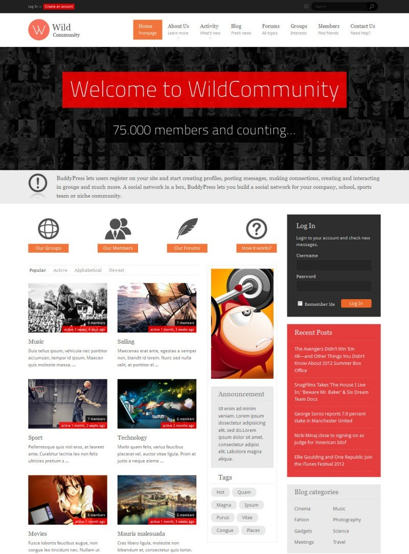 wildcommunity-plantillas-wordpress