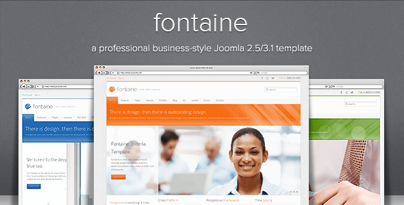 fontaine-joomla-template