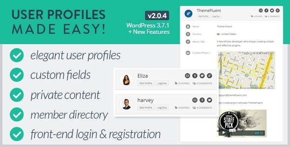 User-Profiles-Made-Easy-WordPress-Plugin
