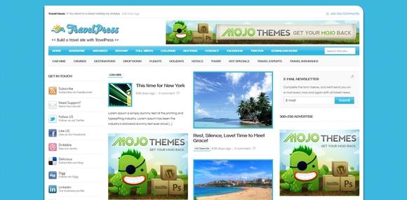 travelpress-mejores-plantillas-wordpress-gratis-viajes