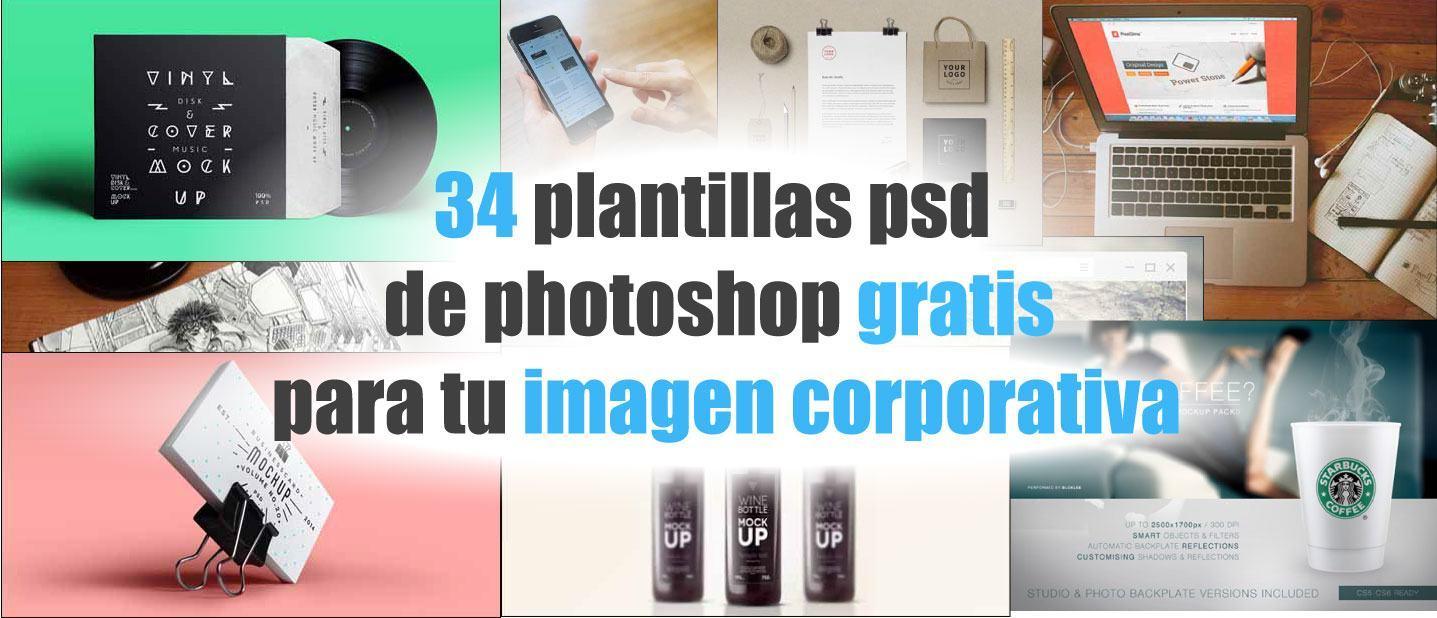 34 plantillas psd de photoshop gratis para tu imagen corporativa