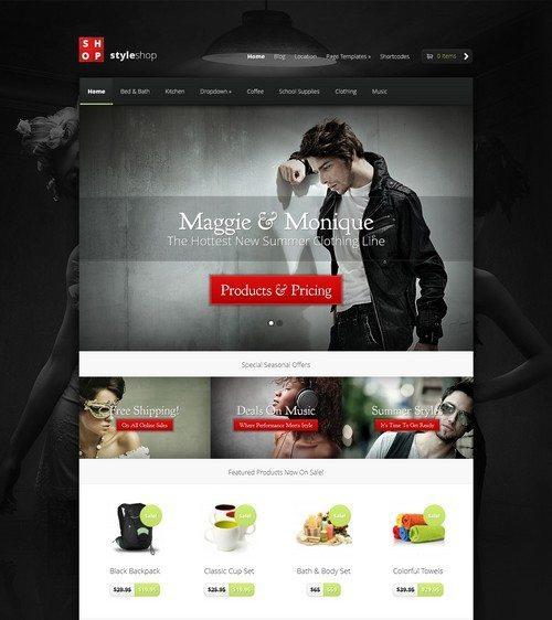 StyleShop-eCommerce-Wordpress-Theme