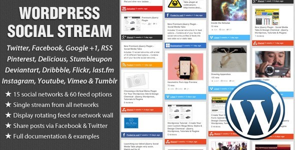 WordPress-Social-Stream-plugin