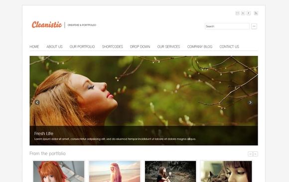 cleanistic-mejores-plantillas-wordpress-gratis-minimalista