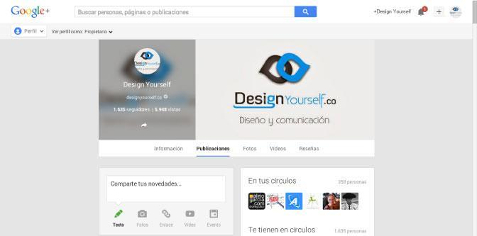 google-plus-pagina-empresa-design-yourself